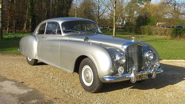 Bentley Continental Type R gris 3/4 avant droit