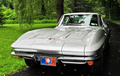 Chevrolet Corvette C2 Sting Ray gris face avant