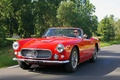 Maserati 3500 GT Spyder rouge 3/4 avant gauche travelling 4