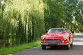 Maserati 3500 GT Spyder rouge face avant travelling