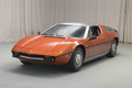 Maserati Bora orange 3/4 avant gauche