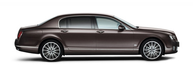 Bentley Continental Flying Spur China - Magenta - profil