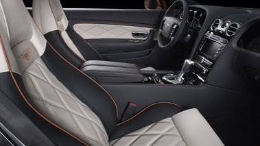 Bentley Continental GT China Design Edition - Orange - habitacle
