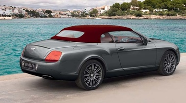 Bentley Continental GTC Speed 3/4 AR