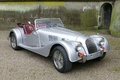 Morgan Roadster V6  Gris 3-4 AV droit