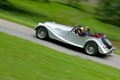 Morgan Roadster V6  Gris profil
