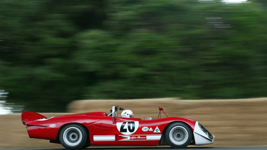 Goodwood Festival of Speed 2017 - Alfa Romeo 33-3 Le Mans rouge filé