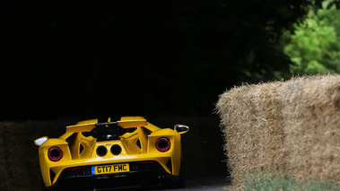 Goodwood Festival of Speed 2017 - Ford GT II jaune face arrière