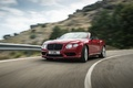 Bentley Continental GTC V8 S rouge 3/4 avant gauche travelling 2