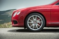 Bentley Continental GTC V8 S rouge jante