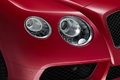 Bentley Continental GTC V8 S rouge phare avant