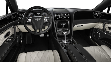 Bentley Flying Spur V8 - grise - habitacle