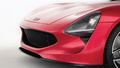 TVR Griffith 2018 rouge phare avant