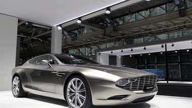 Grand Basel 2018 - Aston Martin Virage Zagato Shooting Brake 3/4 avant droit
