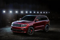 Jeen Grand Cherokee SRT Night Edition - Rouge - 3/4 avant gauche