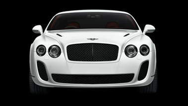 Bentley Supersports-blanche-face avant